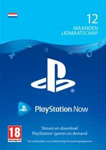 PlayStation Now 12 maanden (digitale code) @ Startselect