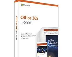 Office 365 Home - 1 jaar - te gebruiken op 6 systemen