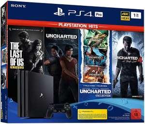 PlayStation 4 Pro Console 1TB Naughty Dog Bundle @ Amazon.de