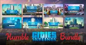 [Steam/PC] Humble Cities: Skylines Bundle + veel DLC's! [2 april meer DLC toegevoegd!]