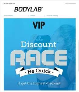 Korting tot 30 % met code @bodylab