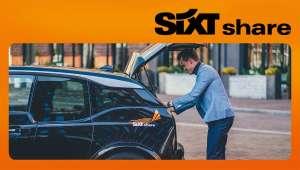 Schrijf je in voor sixt carsharing en krijg €30 rijtegoed