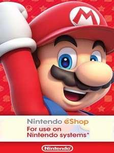 Nintendo eShop card €25 voor €19,94