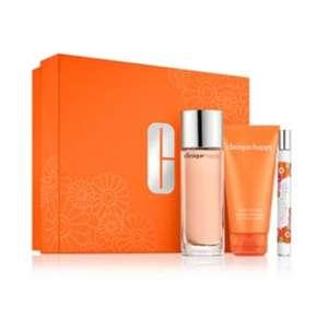Set Clinique happy parfum (totaal 60 ml) en body crème