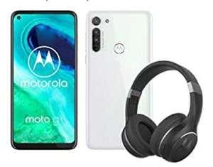Motorola G8 4GB/64GB + Motorola escape 220 koptelefoon
