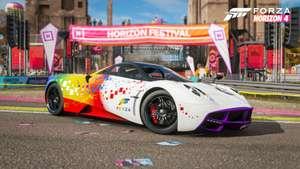 Gratis Pagani Huayra [Forza Rainbow Edition] voor Forza Horizon 4/Forza Motorsport 7[Xbox One]