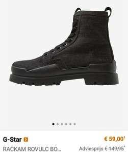 Grote korting op G-Star kleding, schoenen en brillen @ Zalando (mannen & vrouwen)