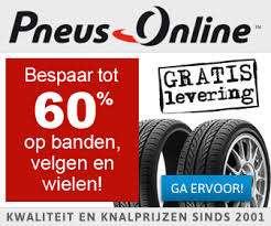 Altijd €18 extra korting en 3.20% cashback @ Banden Pneus Online