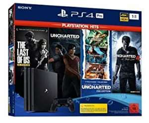 Sony Playstation 4 Pro 1TB Incl. PS Hits Naughty Dog bundel