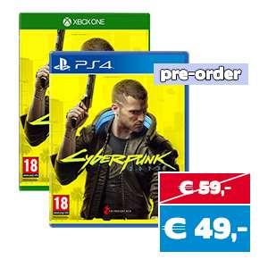 Cyberpunk 2077 PS4/XB1 pre-order @ Gameshop Twente