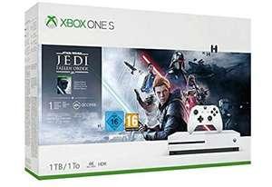 Microsoft Xbox One S 1TB + Star Wars Jedi: Fallen Order Wit