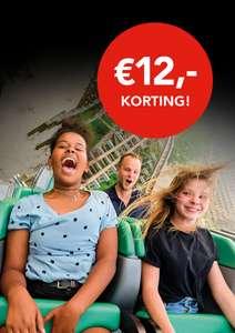 Bij ieder Vue bioscoopkaartje krijg je 12 euro korting op Walibi Holland