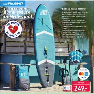 Stand-up paddle boardset
