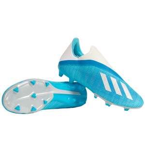 Adidas x 19.3 Laceless FG Voetbalschoenen Blauw voor €22,22