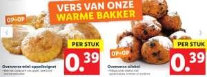 Ovenverse Oliebollen en mini-appelbeignets bij Lidl