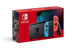 Nintendo Switch - twee kleuren (neon) (2019 Editie) [Amazon FR]
