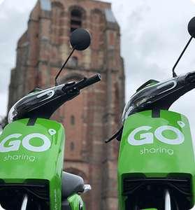 15 minuten gratis @ Go Sharing Scooters (Leeuwarden)