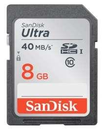 [Prijsfout] Sandisk Ultra SDHC Class 10 8GB voor €0,01 (+€3,45 verzendkosten) @ Camera Island
