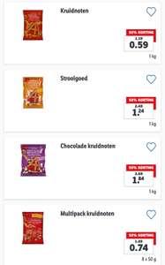 Pepernoten, Chocoladeletters, Strooigoed, Chocoladegeld 50% korting!