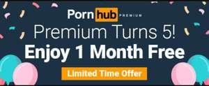 [18+] Pornhub premium 1 maand gratis ivm verjaardag