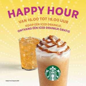[Starbucks] Happy Hour (16-18u) 1+1 Frappé (UT,DH,AMS,AMV)