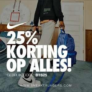 25% korting op alles (incl. sale) @ Nike