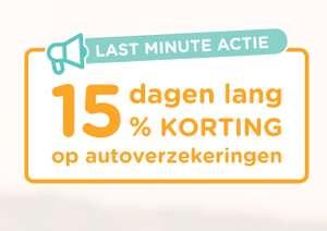 Actie: 15% korting op je autoverzekering + €20 cashback na afsluiten + 5% 'doorlopende cashback' @ UnitedConsumers