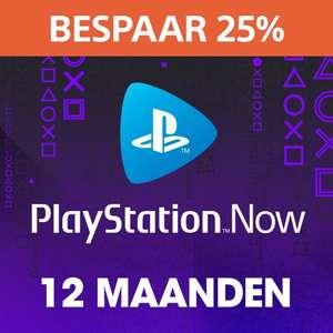 PlayStation Now: abonnement van 12 maanden @ PSN