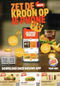 Diverse kortingsbonnen @ Burger King