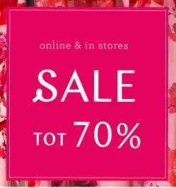 SALE tot -70% + 25% extra korting @ Steps