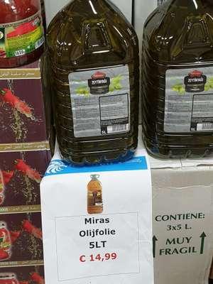 [Lokaal Waalwijk] 5 liter olijfolie voor €15