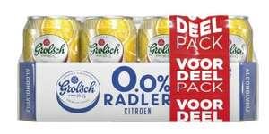 12 blikjes Grolsch Radler Citroen 0% (4 liter) voor €4,99 @ Kruidvat
