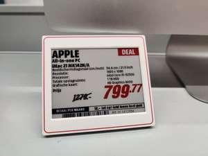 """iMac 21.5"""" i5-5250U bij MediaMarkt Dordrecht"""