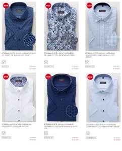 Overhemden [korte mouw] 2 voor €50 [was €159,90] @ Eterna