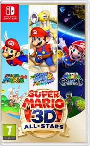 Super Mario 3D All-Stars voor Nintendo Switch @All Your Games