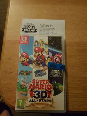 Super Mario 3D All-Stars voor Nintendo Switch @Toy Champ Eindhoven