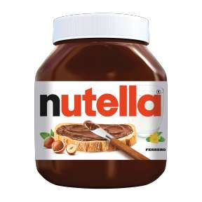 XL-pot Nutella hazelnootpasta (750 gram) €4 @ Aldi