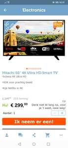 Hitachi 50 inch 4k tv 8ms input lag