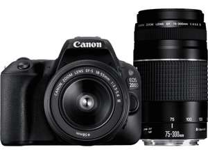 Canon EOS 200D double zoom kit