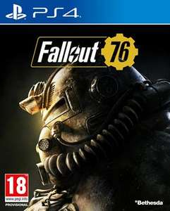[PS4 & Xbox One] Fallout 76 voor €4,98 (Used)
