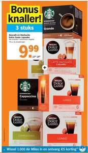 3 stuks (doosjes) Nescafé en Starbucks Dolce Gusto capsules