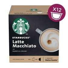 dolce gusto cups 2,87 per doosje grensdeal BE,starbucks 3,08 per doosje