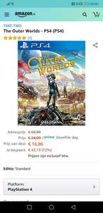 PS4 The Outer World nu voor 17 euro met Prime