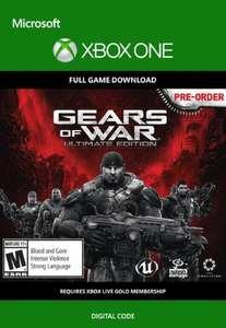 Gears of War: Ultimate Edition Xbox One €1,09 @CDKeys
