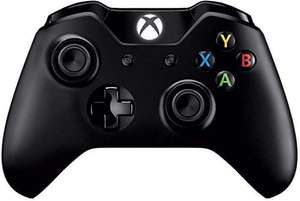 Xbox One controller (zwart) + kabel