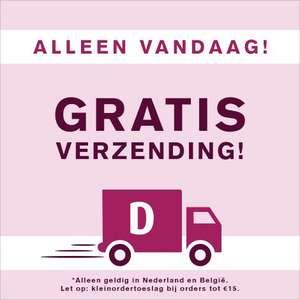 Gratis verzending bij Drogisterij.net