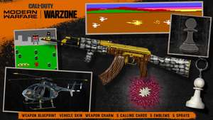 Gratis ingame rewards Call of Duty Modern Warfare/Warzone, Cold War en COD Mobile