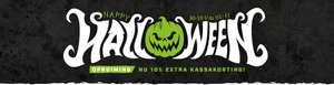 Nu 10% extra kassakorting op alles in de Halloween Opruiming @Toolnation!