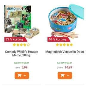 Houten Speelgoed Aanbiedingen tot 50%