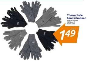 Thermolate handschoenen (S t/m XXL) extra laag geprijsd @ Action